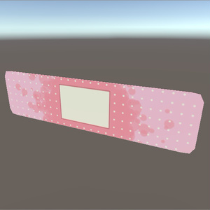 VRC向け 絆創膏(Band-aid) B