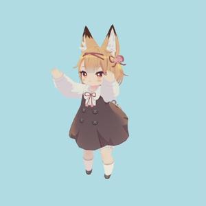 VRCデフォルメキャラ用モーション_02(Deformed Character motion_02)