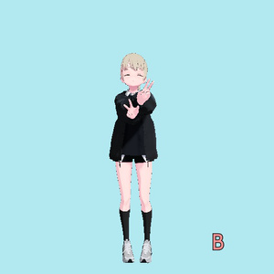 "VRC用手振りモーション(Stand Motion ""Hi"")_Mir"