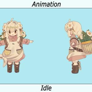 VRC用 みなほしアニメーション(Minahoshi Motion)