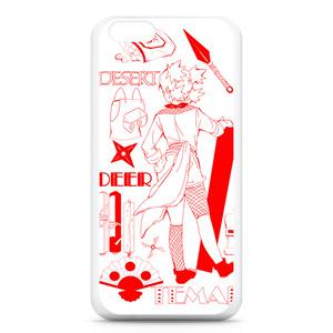 砂のテマリiPhoneケース(ホワイト)