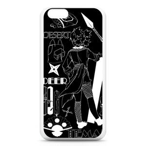 砂のテマリiPhoneケース(ブラック)