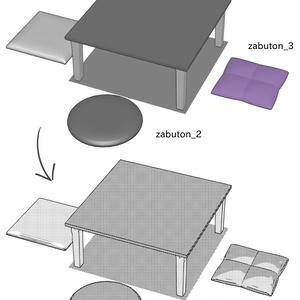 クリスタ用3D素材(二次創作用)_2