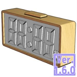 3D デジタルクロック(クリスタ1.6.0~用・コミスタ用)