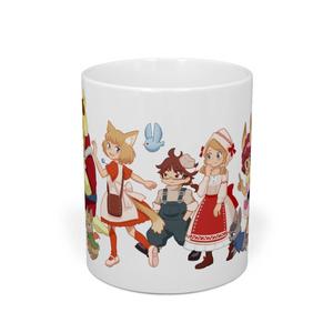 ジラフとアンニカ わくわくマグカップ