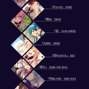【刀剣乱舞イラスト本】ひといき