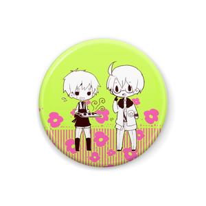 【缶バッジ】味覚音痴兄弟(アルフレッド&アーサー)