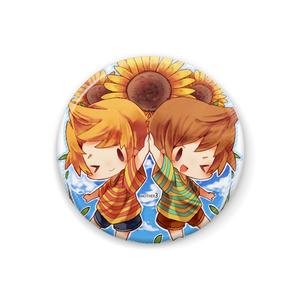【缶バッジ】リュカ&クラウス
