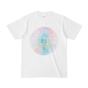 ホツマ文字フトマニ図Tシャツ