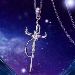 【K】白銀の王ネックレス