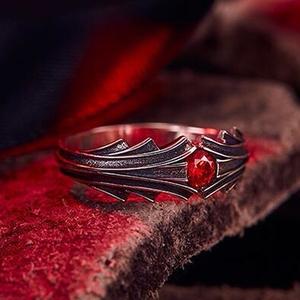【FATE】黒桜イメージ指輪
