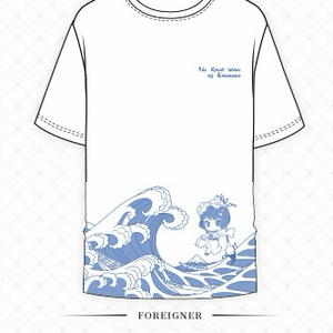 【FGO】7月予約 葛飾北斎浮世絵Tシャツ