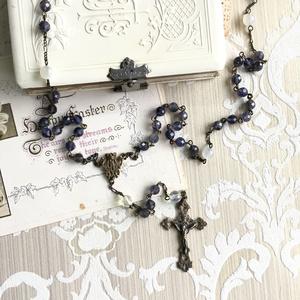 【 ロザリオ 】聖母の菫 - viola maria -