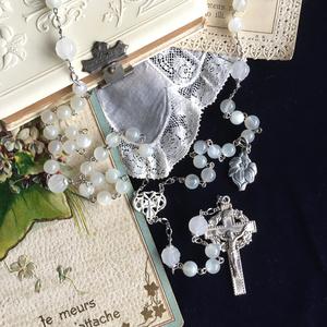 【 ロザリオ 】白百合 - white liliy -