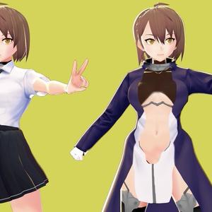 ボルチモア制服&武装 【3Dモデル】