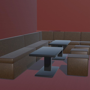 【3Dモデル】キャバクラ【obj&glb】