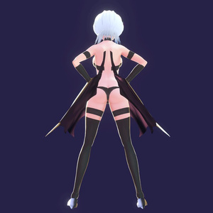 【VRoid】サキュバス衣装セット【衣装&翼】