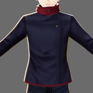 【VRoid】呪術〇専生なりきりジャケット2種類+2