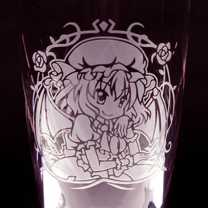 キャラクターグラス レミリア・スカーレット【タンブラー/フリー/ロック】