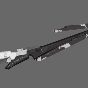 近接戦闘用高周波ブレード CIWS-01A Mod.2