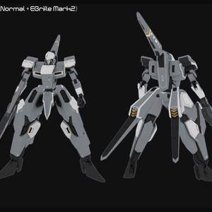 【VRChatアバター向けオリジナル3Dモデル】EAF-07A1 ヴァレフォール