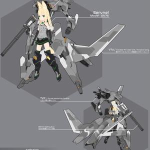 "【VRChat向け】AMECS-011 ""テュフォーン"""
