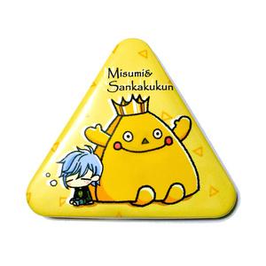 A3! 三角形缶バッジ(三角&さんかくクン)