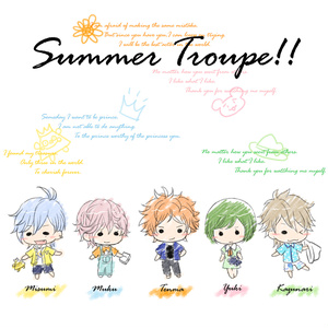 A3! 夏組デザイントートバッグ(L)