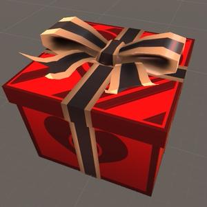 穴開きプレゼントボックス
