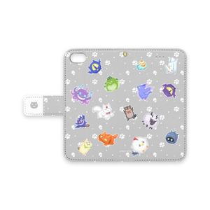 まかいのいきもの iPhoneケース ベルト付き