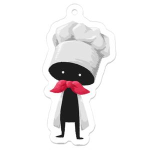 HEADGEARアクキー(コック帽)