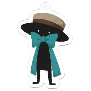 HEADGEARアクキー(カンカン帽)