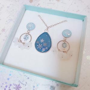 クリスマスコフレ〜ネックレスと耳飾り〜