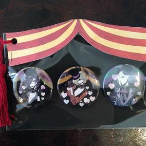 Cirque de la mort 缶バッジセット