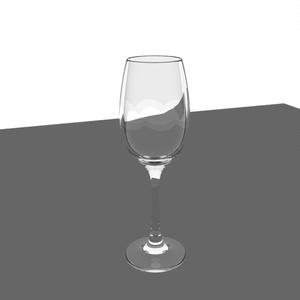 グラス 3Dモデル