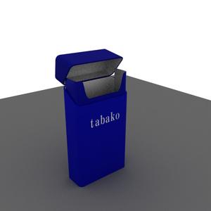 タバコ(ケース) 3Dモデル