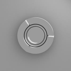 灰皿 3Dモデル