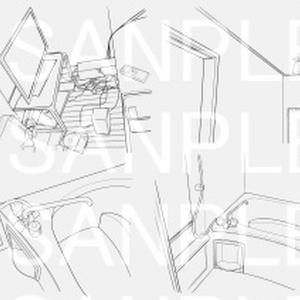 アパートB-3×16カット