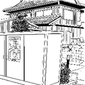 【無料配布】アパートB-4×10カット
