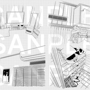 天井②(他時間経過コマ)×19カット