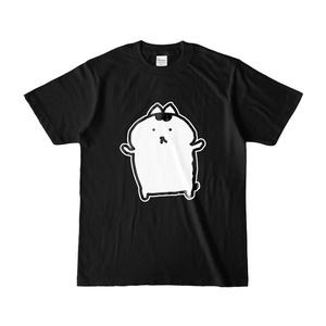 等身大オカメちゃんTシャツBLACK