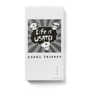 うさぎ帝国 モバイルバッテリー(Life is USATEI)