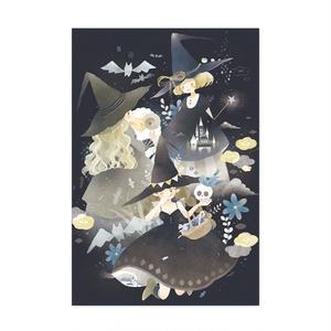 ポストカード「3人の魔女」
