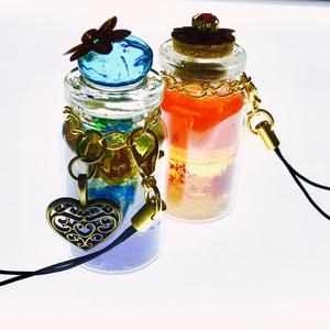 ハンドメイド創作【憂海の蜜瓶・戦花の蜜瓶】