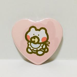 BABYハート缶バッジ(ピンク)