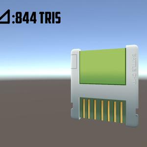 (バトルチップ) 3Dモデル