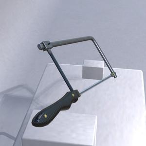 オリジナル3Dモデル「糸鋸」