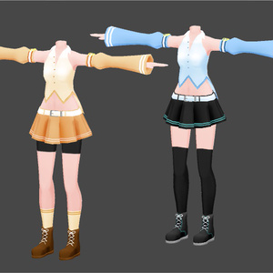 【3Dモデル】Star siesta - 着せ替え用コスチューム