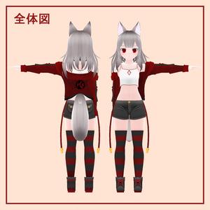 オリジナル3Dモデル『ライム』【水着衣装追加!】