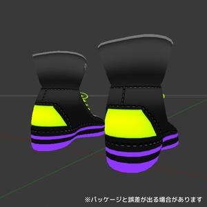 【3Dモデル】粒六郎シューズ【靴】
